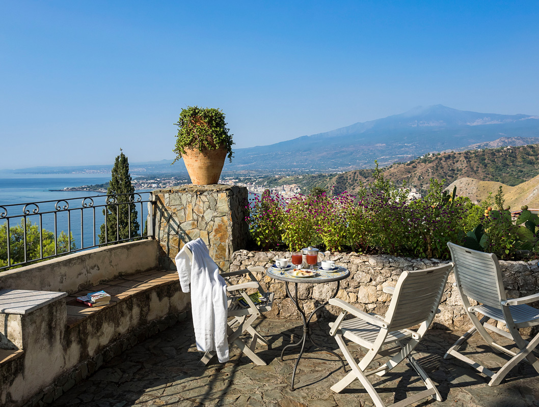 Photo Gallery with sea view | Hotel Bel Soggiorno, Taormina, Sicily